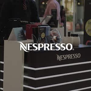 Nespresso Brand Activation - Jawbone Brand Experiences