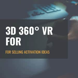 for Selling Activation Ideas